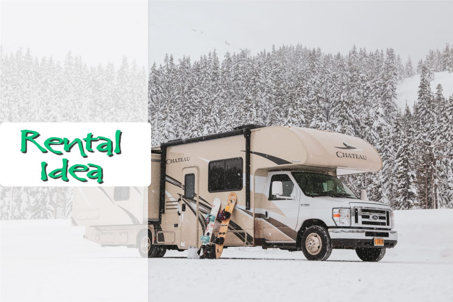 Take an RV Rental tot he Mountain for the best Apres Ski