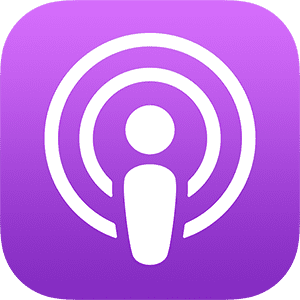 The Apple Podcast Logo